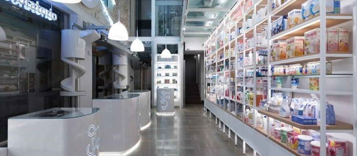 farmacia iluminación