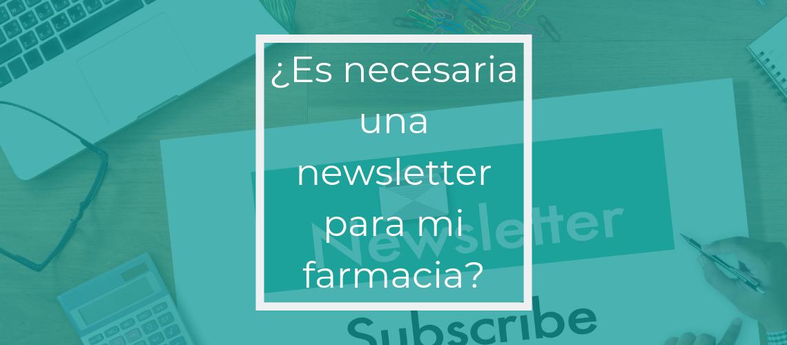 newsletter farmacia